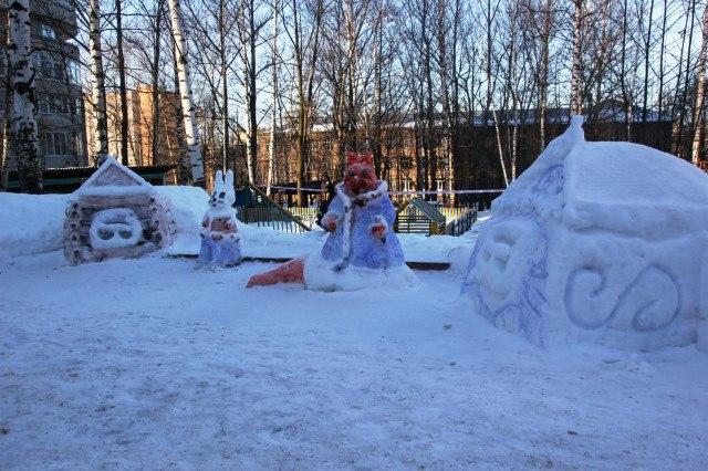 конкурс Зимняя сказка