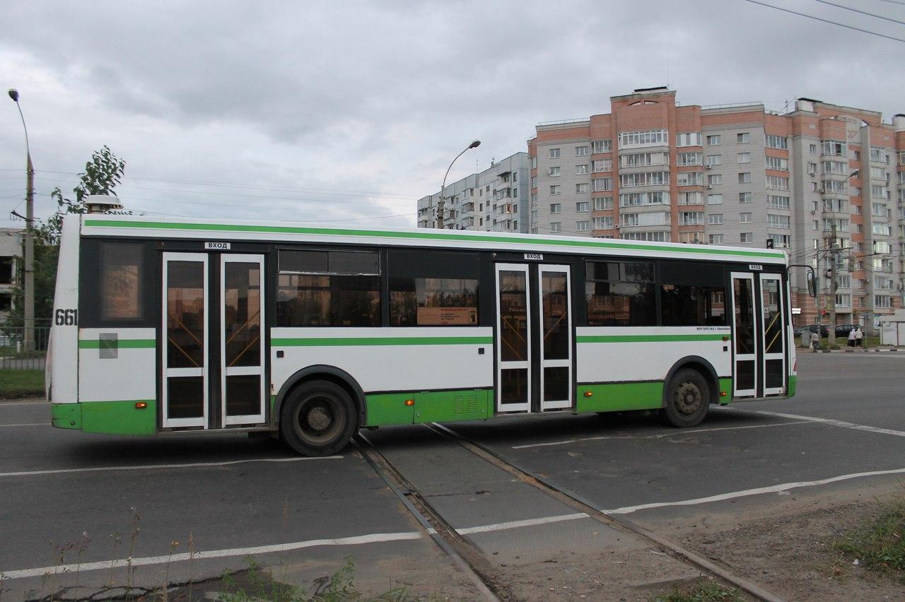Расписание общественного транспорта гЯрославль